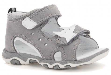 Bartek 71489/ 7 - 1EX sandały sandałki dziecięce - szary