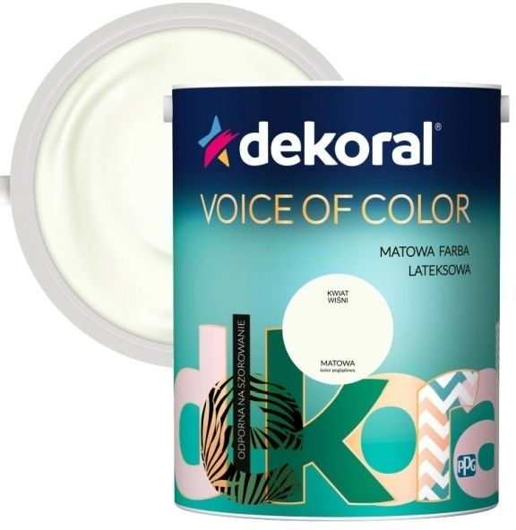 Farba Dekoral Voice of Color kwiat wiśni 5 l