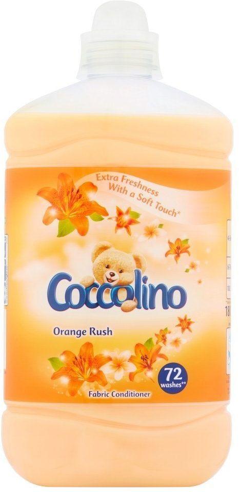 UNILEVER Coccolino Płyn do płukania tkanin Orange Rush 1800ml (72 prania)