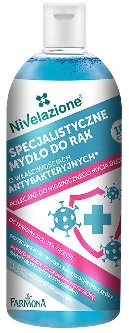 NIVELAZIONE Specjalistyczne mydło do rąk o właściwościach antybakteryjnych 500 ml