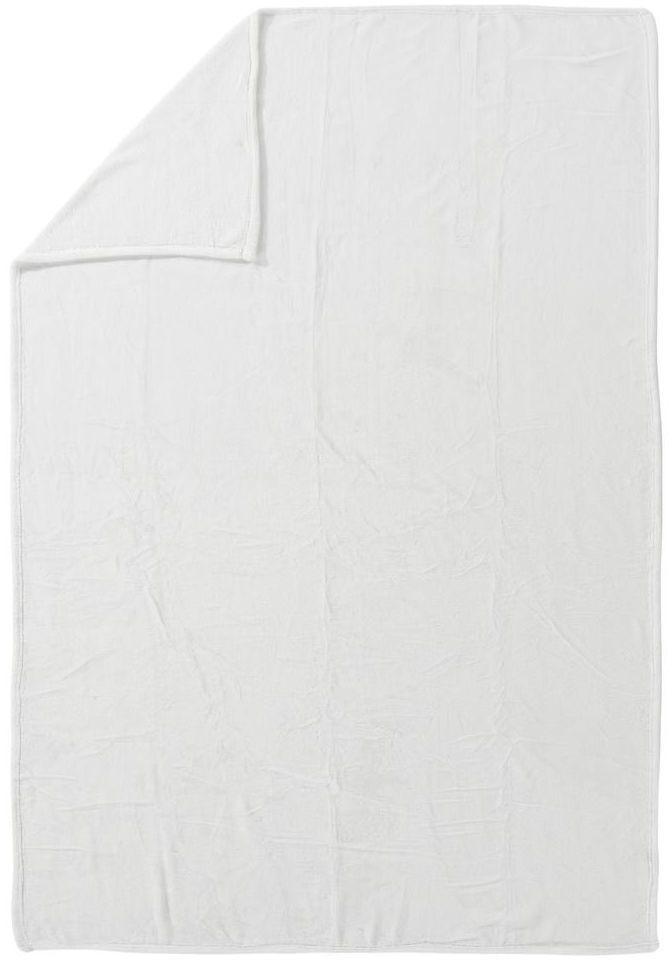 Pled Cocoon biały 130 x 180 cm