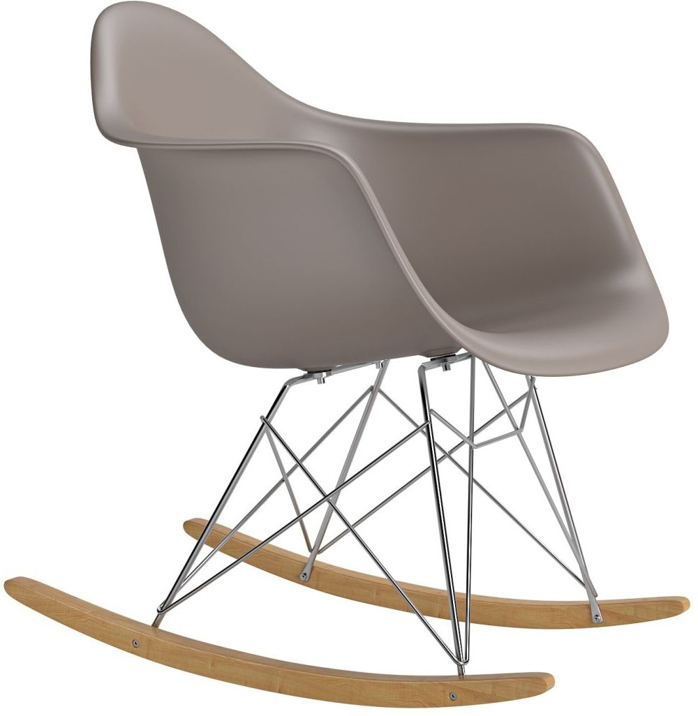 Krzesło bujane P018 RR PP szary