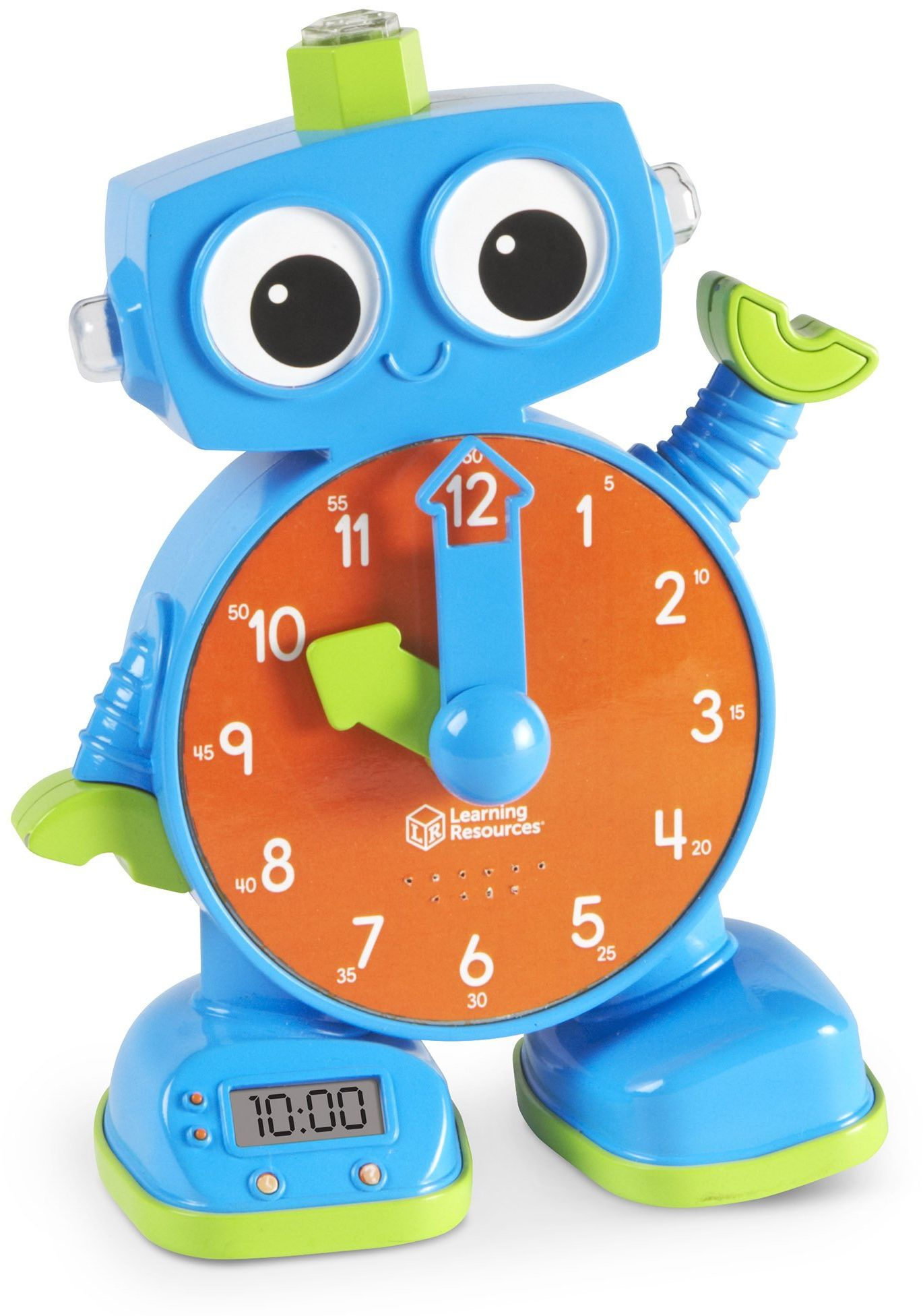 Learning Resources Tock the Learning Clock  Tick, zegar do nauki