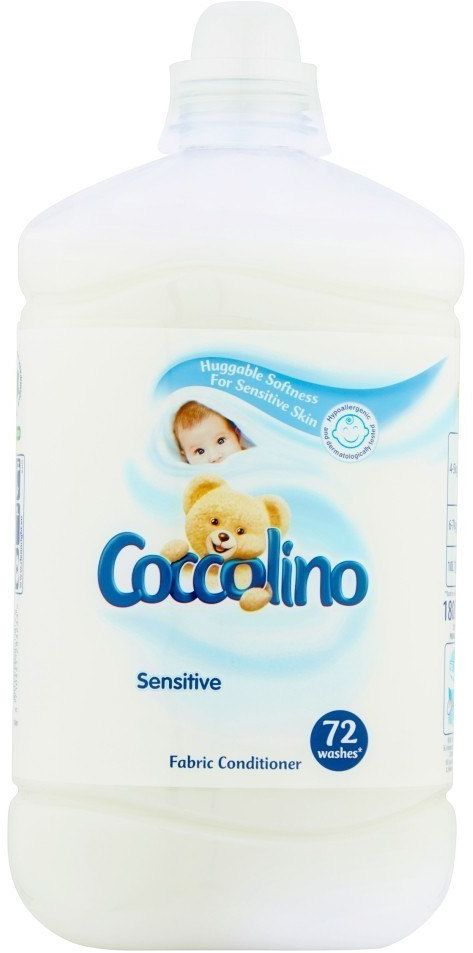 UNILEVER Coccolino Płyn do płukania tkanin Sensitive 1800ml (72 prania)