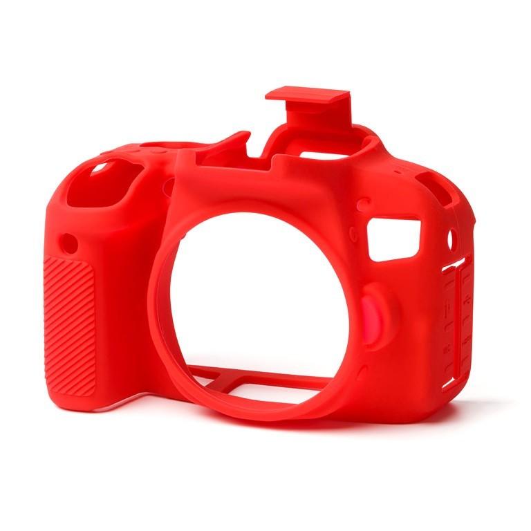 Osłona silikonowa easyCover do aparatów Canon EOS 800D czerwona