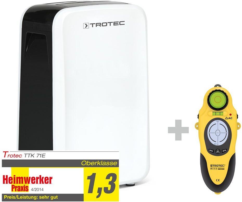 Osuszacz powietrza TTK 71 E + Wallscanner BI15