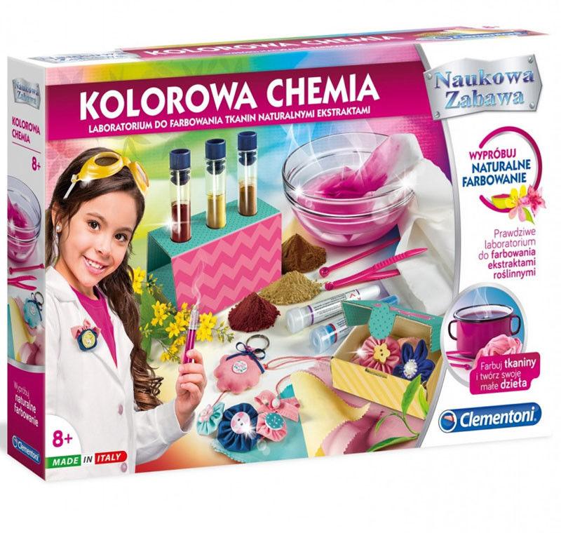 Clementoni - Kolorowa chemia 50518
