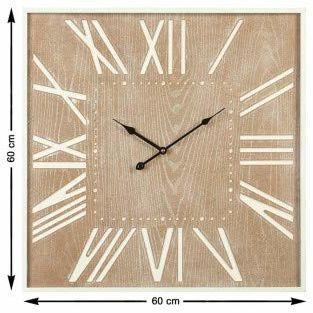 Atosa 62508 zegarek na rękę, kwadratowy, 60 x 60 x 5 cm