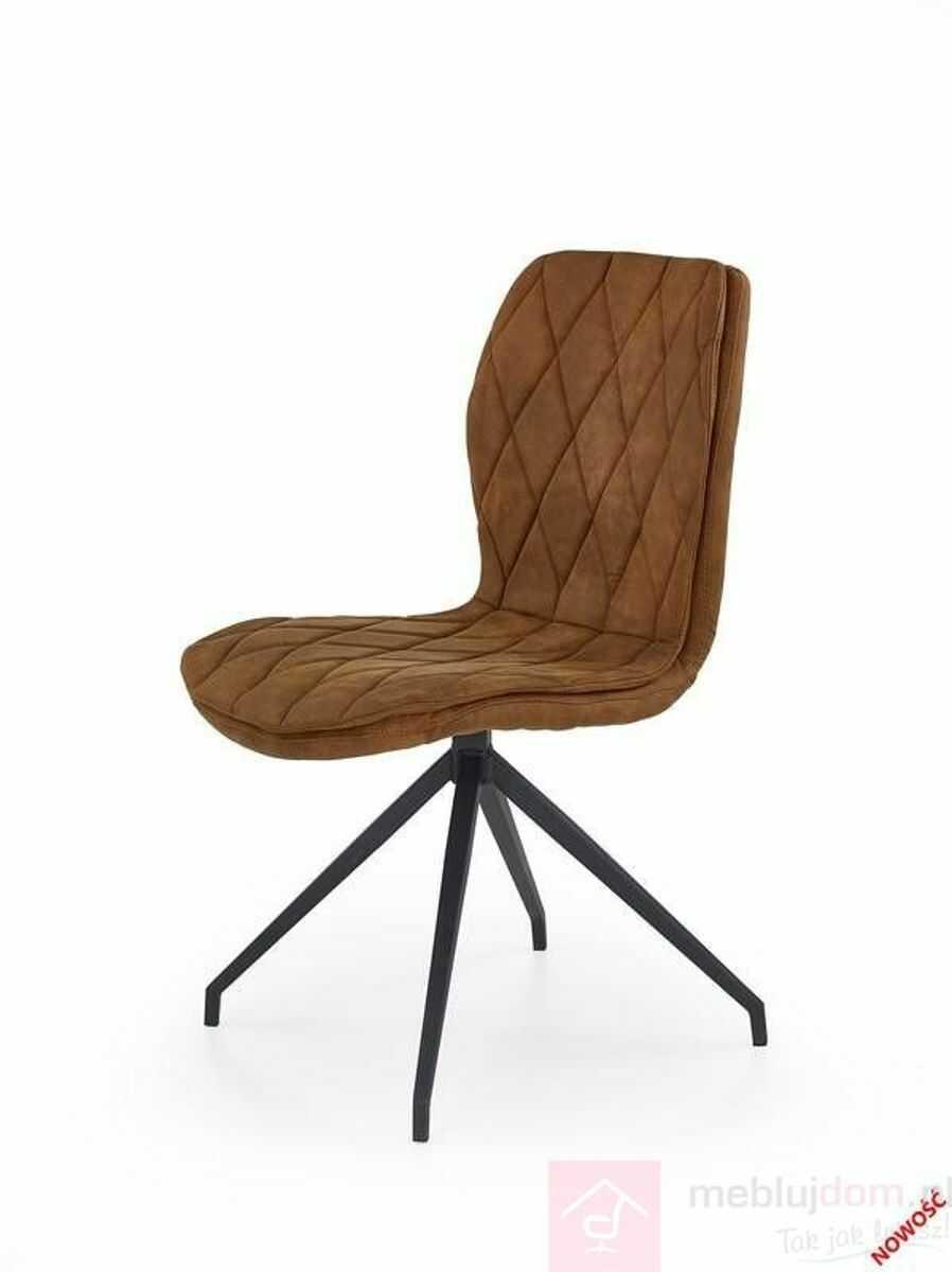 Krzesło K-237 Halmar Brązowy