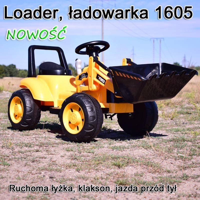 ŁADOWARKA, LOADER, SPYCHACH BUDOWLANY NOWOŚĆ/TR1605
