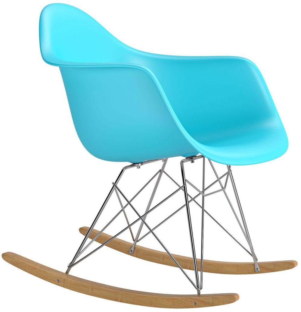 Krzesło bujane P018 RR PP niebieski