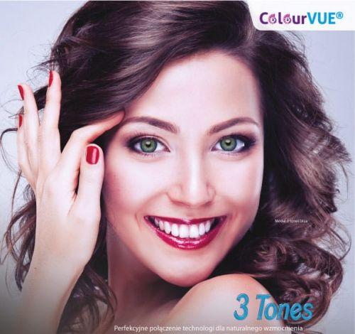 ColourVue 3 Tones - 2 sztuki (moc 0,00)