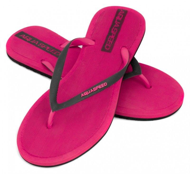 Klapki basenowe japonki Aquaspeed Genoa 03 różowe