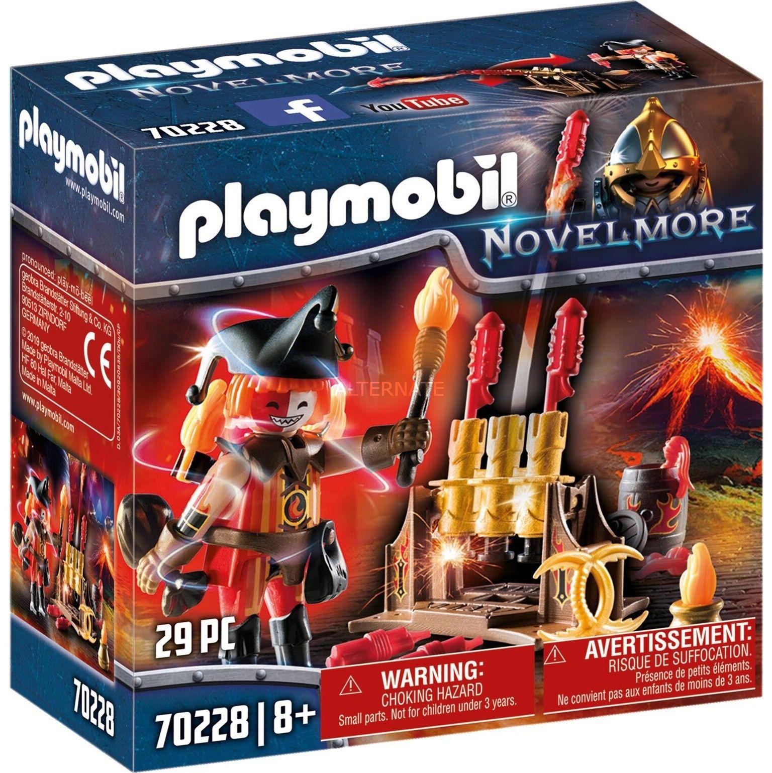 Playmobil - Ogniomistrz Wojowników Burnham 70228