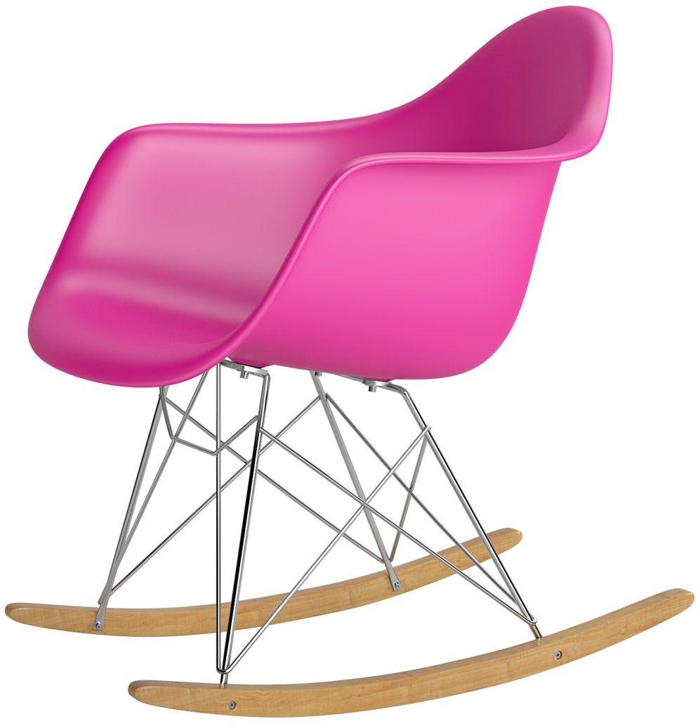 Krzesło bujane P018 RR PP różowy