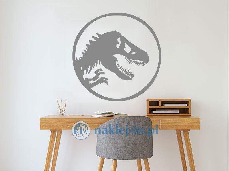 Dinozaur 3 naklejka naklejka na ścianę