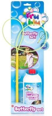 TM Toys Fru Blu Zestaw do baniek mydlanych Motylek + Płyn 0,5L DKF8215