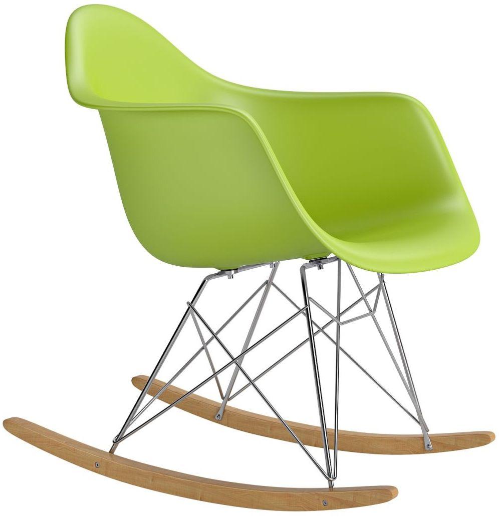 Krzesło bujane P018 RR PP zielony