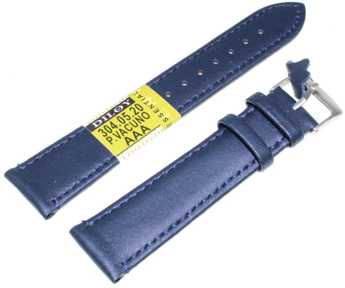 Skórzany pasek do zegarka 20 mm Diloy 304.20.5