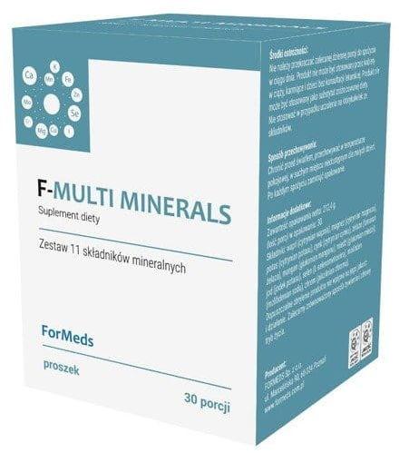 F-Multiminerals 30 Porcji 212,4g - ForMeds