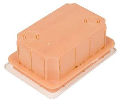 Puszka podtynkowa 76x116x52mm pomarańczowa Pp/t 2 11.2