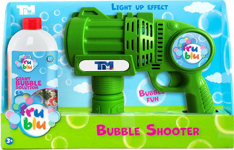 TM Toys Fru Blu Pistolet na bańki mydlane + Płyn 0,5L DKF8234