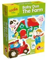 Carotina Baby Duo Farm - Lisciani