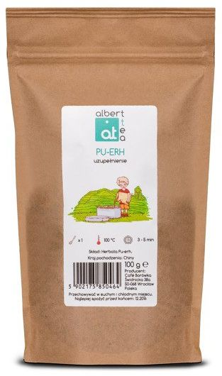Albert Tea Pu-erh - Uzupełnienie
