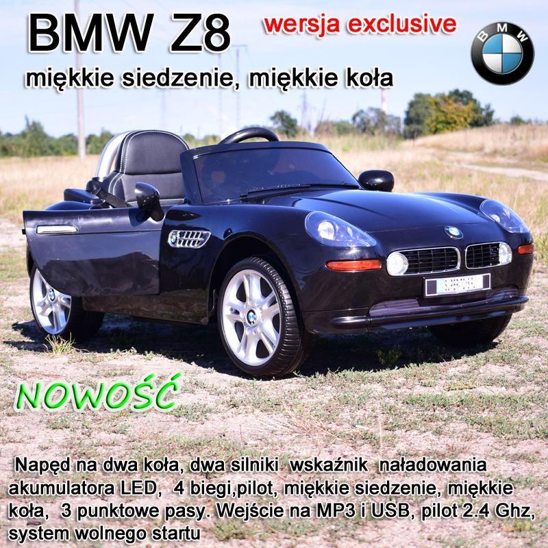 ORYGINALNE BMW Z8 W NAJLEPSZEJ WERSJI,MIĘKKIE SIEDZENIE ,KOŁA EVA,2.4 Ghz/JE1288
