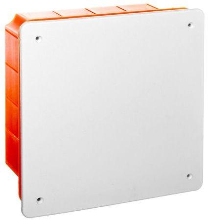 Puszka podtynkowa 156x156x70mm pomarańczowa Pp/t 7 11.7