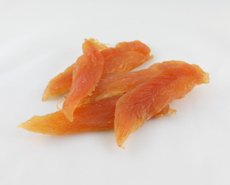 Przysmak smakołyk karma dla psa kota miękkie piersi z kurczaka 100g
