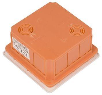 Puszka podtynkowa 126x126x70mm pomarańczowa Pp/t 5 11.5