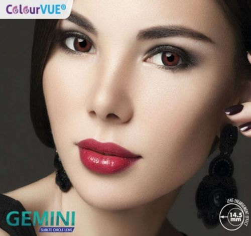 ColourVue Gemini 14,5mm - 2 sztuki (moc 0,00)