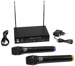 OMNITRONIC VHF-102 Mikrofon bezprzewodowy 212.35/200.10MHz