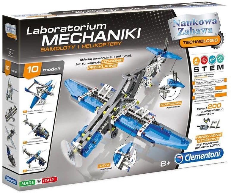 Clementoni - Laboratorium mechaniki Samoloty i helikoptery 60950