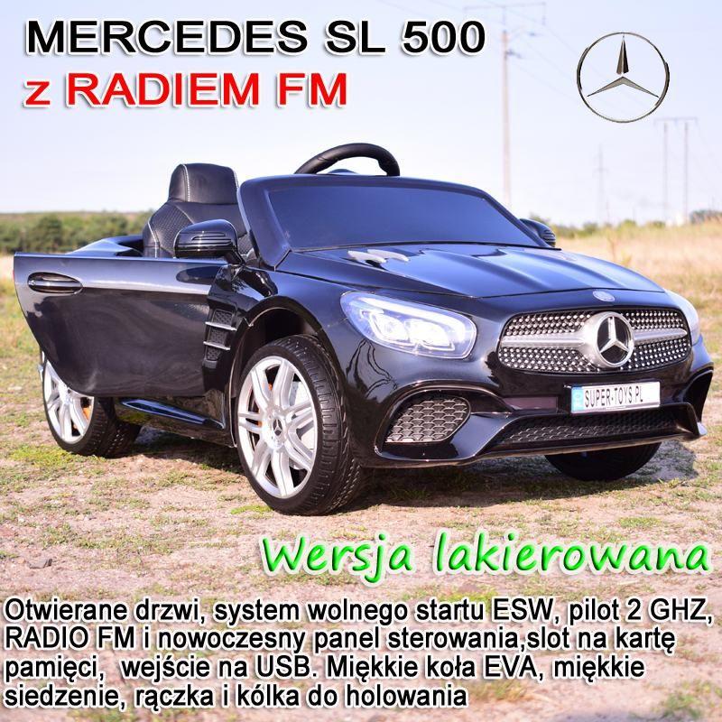 MERCEDES SL500, MIĘKKIE SIEDZENIE , MIEKKIE KOŁA, SYSTEM ESW, LAKIER, RADIO FM /S301