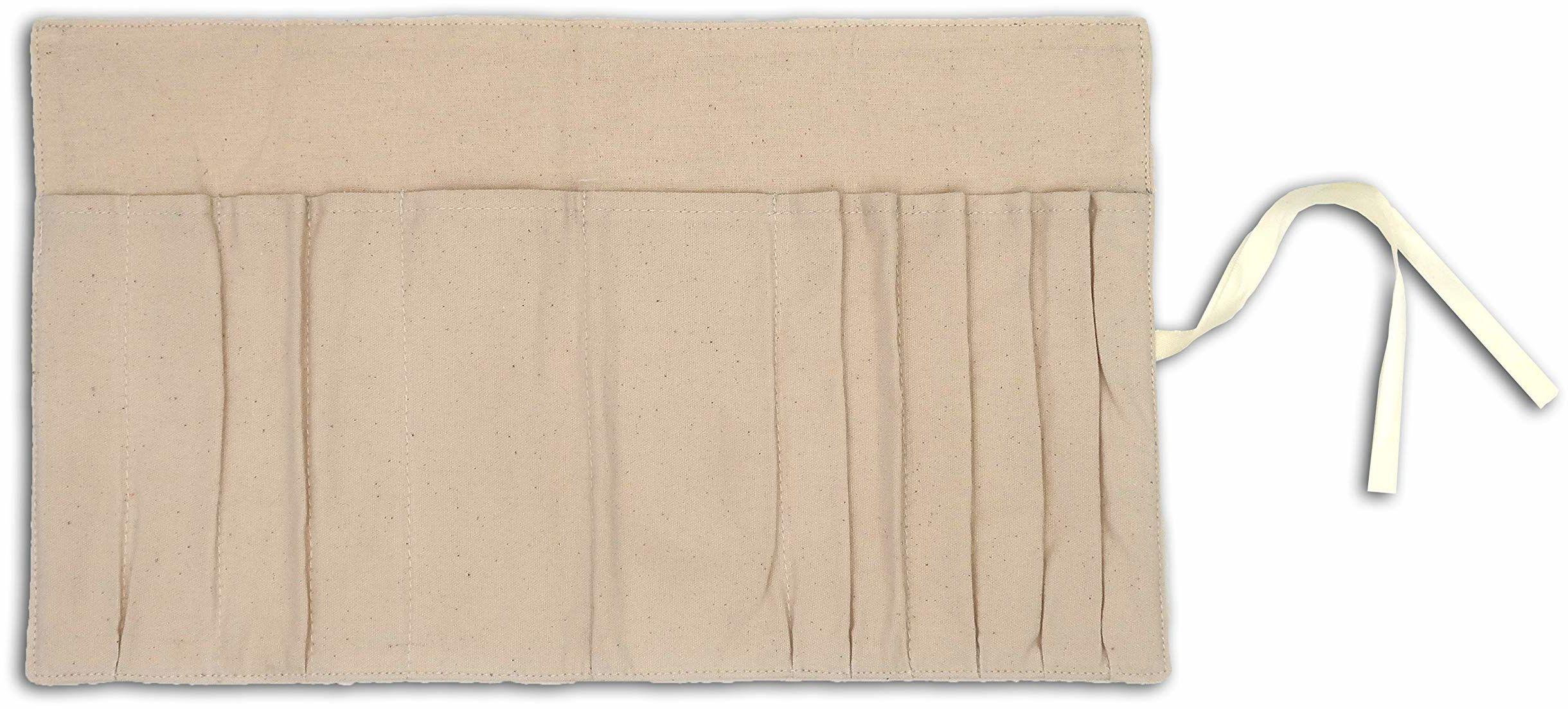 Mlle Toga etui na długopisy, Make Up, materiał, beżowy, 39 x 22 cm