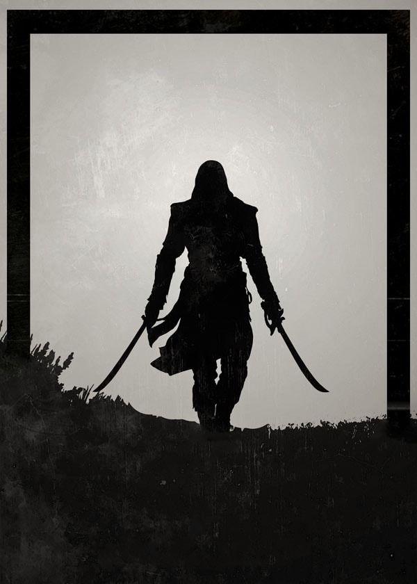 Dawn of heroes - edward kenway, assassins creed - plakat wymiar do wyboru: 30x40 cm