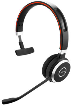 Jabra EVOLVE 40 MS Mono USB Headband, Noise cancelling, USB and 3.5