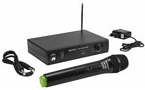 OMNITRONIC VHF-101 Mikrofon bezprzewodowy 207.55MHz