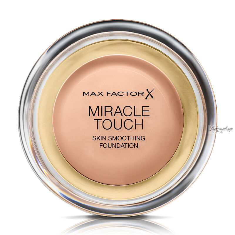 Max Factor - MIRACLE TOUCH - Skin Perfecting Foundation - Kremowy podkład do twarzy - 055 - BLUSHING BEIGE