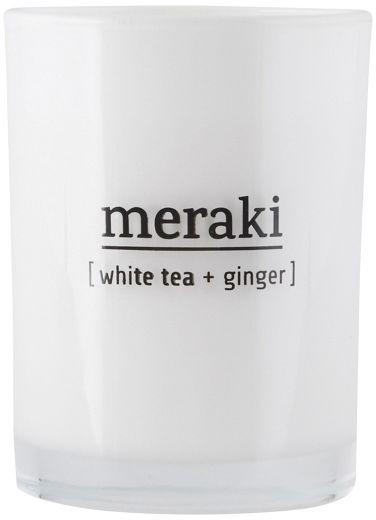 Meraki SCENTED Świeca Zapachowa M - White Tea & Ginger