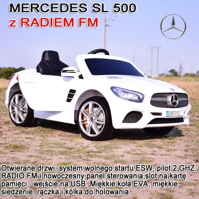 MERCEDES SL500, MIĘKKIE SIEDZENIE , MIEKKIE KOŁA, SYSTEM ESW, RADIO FM /S301