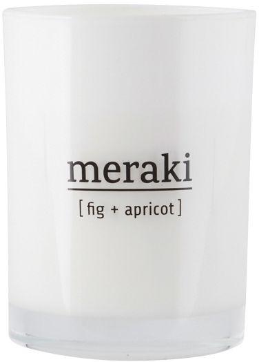 Meraki SCENTED Świeca Zapachowa M - Fig & Apricot
