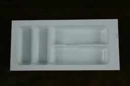 Wkład szuflady 490x30 biały (24cm x 49cm x 5cm)