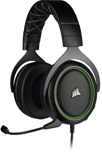 Corsair HS50 PRO Stereo (zielone)