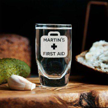 First Aid - Kieliszki do wódki