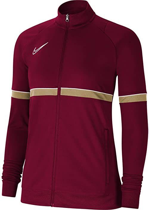 Nike Damska kurtka damska Academy 21 Track Jacket Team Red/White/Jersey Gold/White M