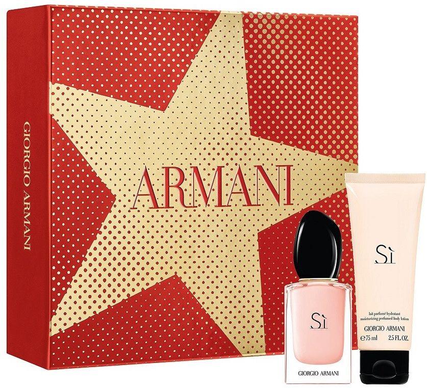 Giorgio Armani Si balsam do ciała 75ml + woda perfumowana - 30ml