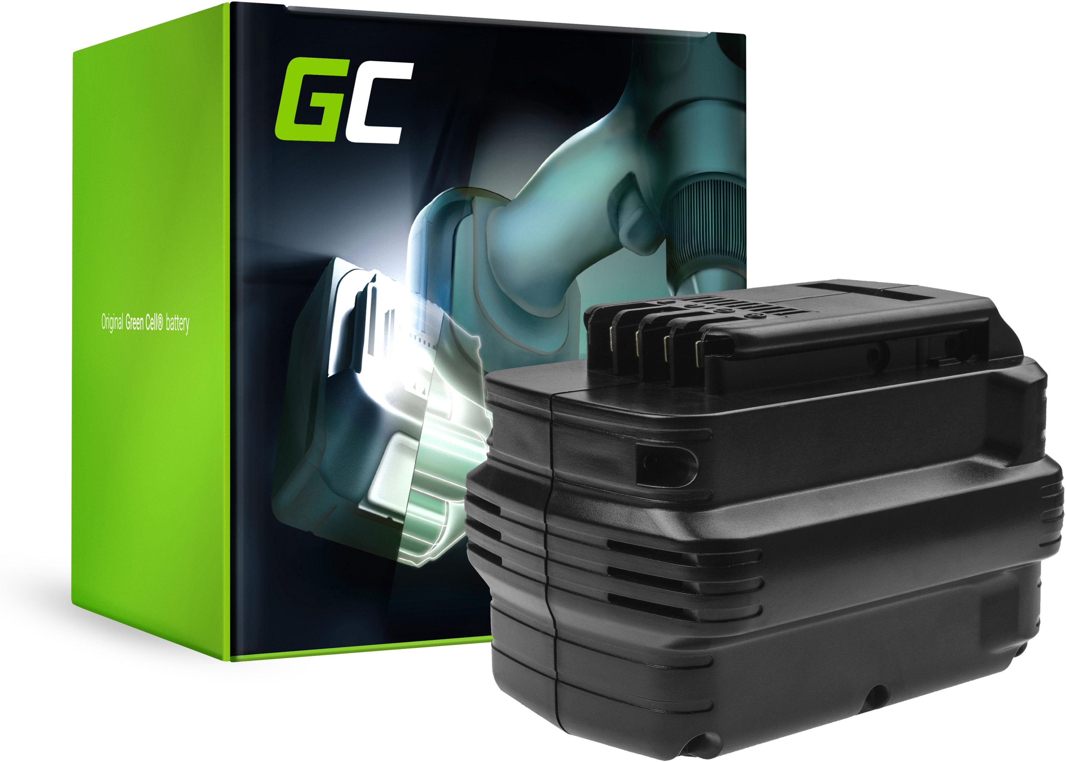 Bateria Green Cell (3Ah 24V) DE0240 DE0240-XJ DE0241 DE0243 do DeWalt DC222KA DC222KB DC223KA DC223KB DW005K2H DW006 DW006K